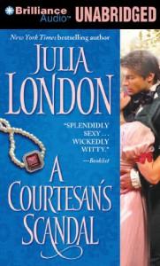 A Courtesan's Scandal - Julia London, Anne Flosnik