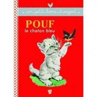 Pouf le chaton bleu - Pierre Probst