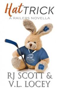 Hat Trick (Harrisburg Railers #8) - V.L. Locey, RJ Scott