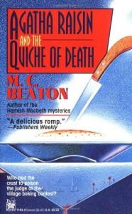 Agatha Raisin and the Quiche of Death  - M.C. Beaton