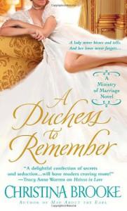 A Duchess to Remember - Christina Brooke