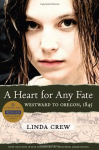 A Heart for Any Fate - Linda Crew, Jennifer Armstrong