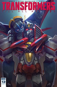 Transformers: Till All Are One #12 - Mairghread Scott, Sara Pitre-Durocher
