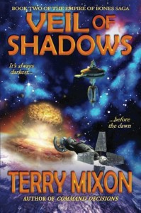 Veil of Shadows: Book 2 of The Empire of Bones Saga (Volume 2) - Terry Mixon