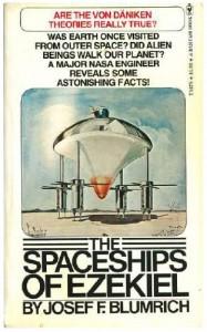The Spaceships of Ezekiel (Bantam Y8378) - Josef F. Blumrich