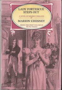 By Marion Chesney Lady Fortescue Steps Out (Thorndike Press Large Print Paperback Series) [Paperback] - Marion Chesney