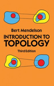 Introduction to Topology - Bert Mendelson