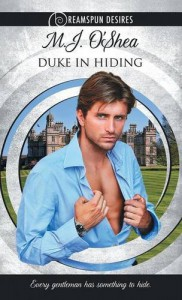 Duke in Hiding - M J O'Shea