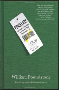 Priceless: The Myth of Fair Value (and How to Take Advantage of It) - William Poundstone