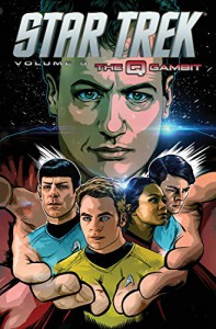 Star Trek Volume 9: The Q Gambit - Mike Johnson, Tony Shasteen