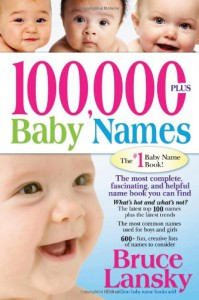 100,000 + BABY NAMES:The Most Complete Baby Name Book - Bruce Lansky