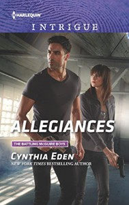 Allegiances (The Battling McGuire Boys) - Cynthia Eden