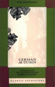 German Autumn - Stig Dagerman