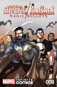 Doctor Strange/Punisher: Magic Bullets Infinite Comic #8 (of 8) - John Barber