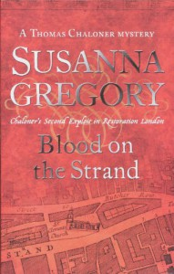 Blood on the Strand  - Susanna Gregory