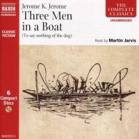 3 Men in a Boat 6d - Jerome K. Jerome, Martin Jarvis