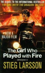 Girl Who Played With Fire Film Tie in - Stieg Larsson