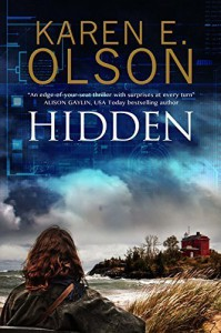 Hidden: First in a new mystery series (Nicole Jones) by Olson, Karen E.(November 1, 2015) Hardcover - Karen E. Olson