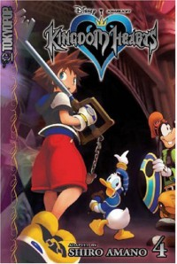 Kingdom Hearts, Vol. 4 - Shiro Amano