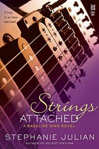 Strings Attached (A Salon Games Novel) - Stephanie Julian