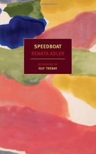 Speedboat - Renata Adler, Guy Trebay