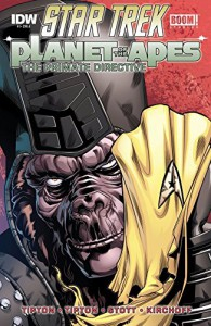 Star Trek / Planet of the Apes #1 (of 5) - Scott Tipton, David Tipton, Juan Ortiz, Rachael Stott
