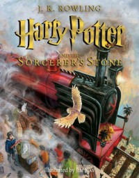 Harry Potter and the sorcerer's stone Illustrated edition  - J.K. Rowling