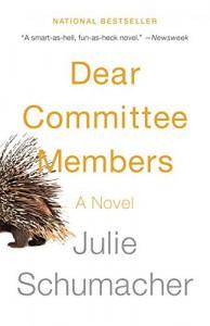 Dear Committee Members - Julie Schumacher