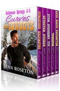 Curves and Cowboys 2 - BBW Western Romance Boxed Set (Coldwater Springs 5-9) - Jenn Roseton