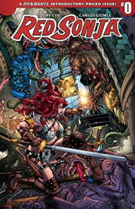 Red Sonja Vol. 4 #0  - Amy Chu, Carlos Gomez
