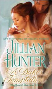 A Duke's Temptation (Bridal Pleasures Series #1) - Jillian Hunter
