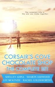 Corsair's Cove Chocolate Shop: The Complete Set - Shelley Adina, Lee Mckenzie, Sharon Ashwood, Rachel Goldsworthy