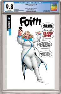 Faith #1 Retailer Exclusive Cover by Stephanie Hans, Source Comics and Games - Jody Houser, Stephanie Hans