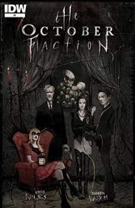 The October Faction #1 - Steve Niles, Damien Worm
