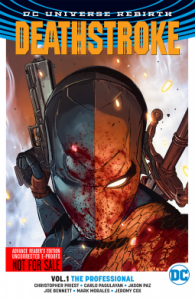 Deathstroke Vol. 1: The Professional (Rebirth) - Christopher Priest, Carlo Pagulayan