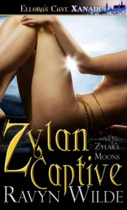Zylan Captive (Zylar's Moons, #1) - Ravyn Wilde