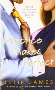 Practice Makes Perfect (Berkley Sensation) by Julie James (2009-03-03) - Julie James;