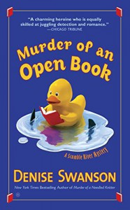 Murder of an Open Book: A Scumble River Mystery - Denise Swanson