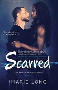 Scarred: A New Adult Romance (The Anderson Brothers Series) (Volume 1) - Marie Long