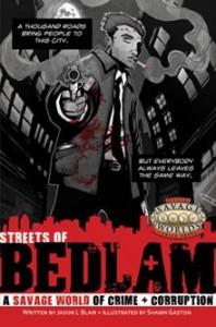 Streets of Bedlam - Jason L. Blair