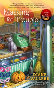 Masking for Trouble - Diane Vallere
