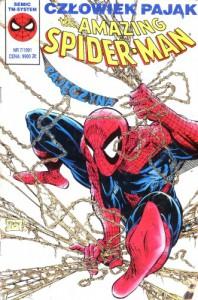 The Amazing Spider-Man - Człowiek Pająk - Pajęczyna 07/1991 #013 - Stan Lee, David Michelinie