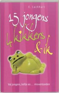 15 Jongens, 4 kikkers & ik: 15 jongens, 11 psychiaterbezoeken, 4 keramische kikkers en ik, Ruby Oliver - E. Lockhart