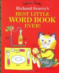Best Little Word Book Ever (Little Golden Book) - Richard Scarry
