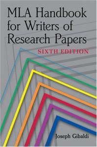 MLA Handbook for Writers of Research Papers - Joseph Gibaldi, Phyllis Franklin