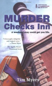 Murder Checks Inn - Tim Myers