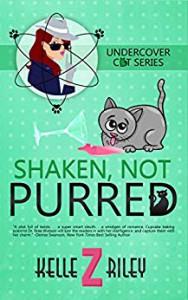 Shaken, Not Purred (Undercover Cat, #2) - Kelle Z Riley