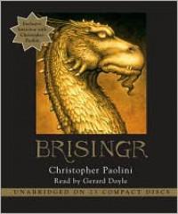 Brisingr (Inheritance, #3) - Christopher Paolini, Gerard Doyle