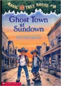 Ghost Town At Sundown - Mary Pope Osborne, Sal Murdocca