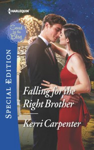 Falling for the Right Brother (Saved by the Blog) - Kerri Carpenter